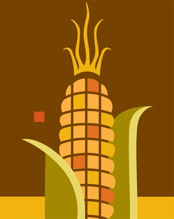 Indian Corn Giclee print