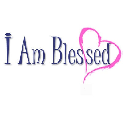 I Am Blessed By God I Am Blessed Ladies Fa...