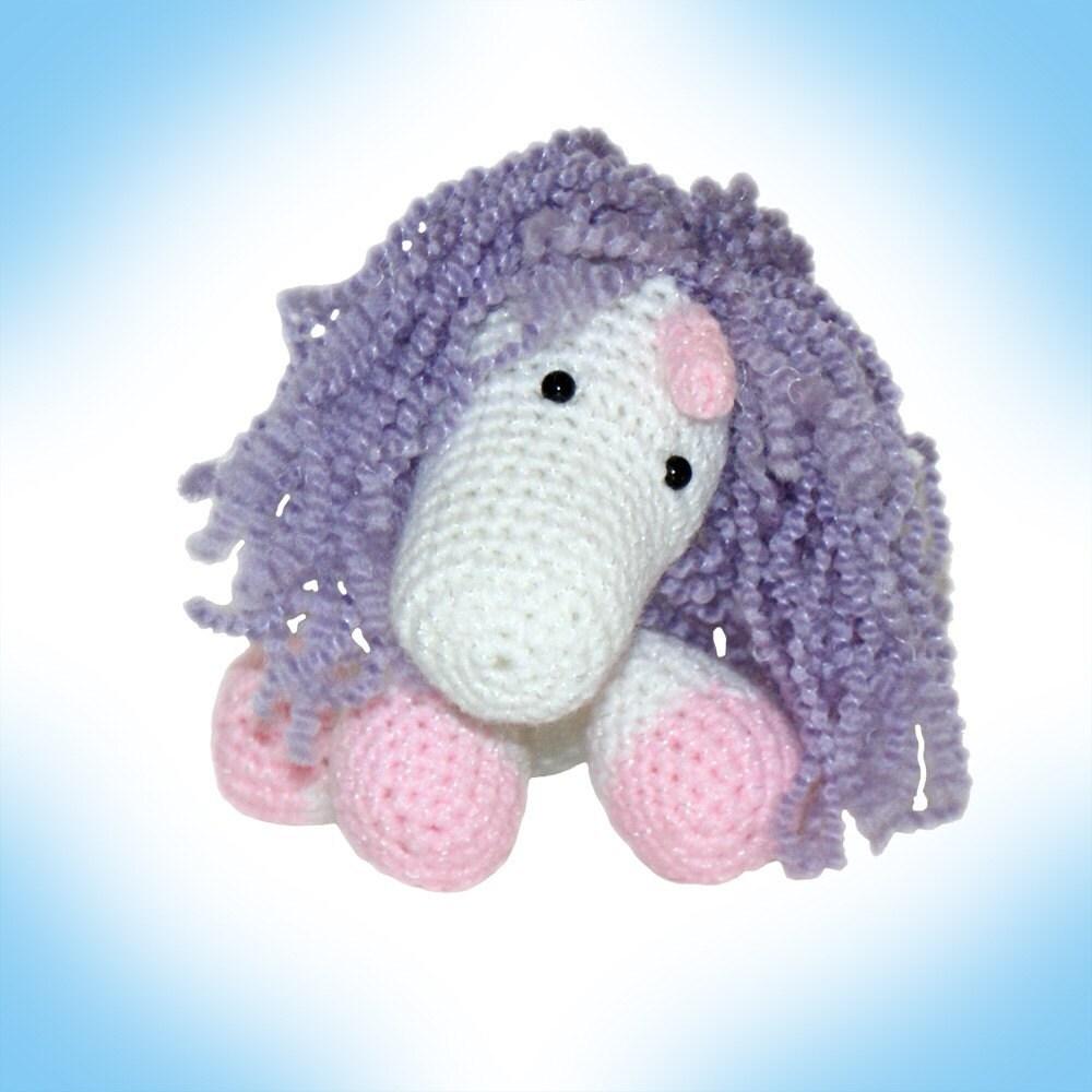 Amigurumi Crochet Unicorn Pattern : Stumpy the Unicorn Amigurumi Crochet Pattern by JacquiJCrochet