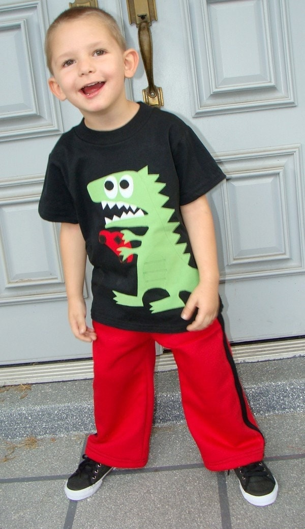 OhZilla Monster Boys Custom Shirt and Pants Set