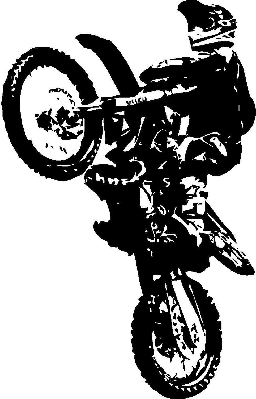 Motocross Logo Drawings