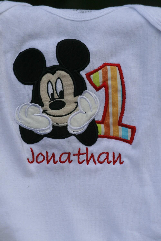 Mickey Mouse 2nd Birthday Applique Designs Joy Studio