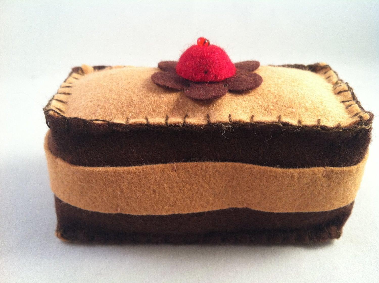 Slice Of Cake Pincushion