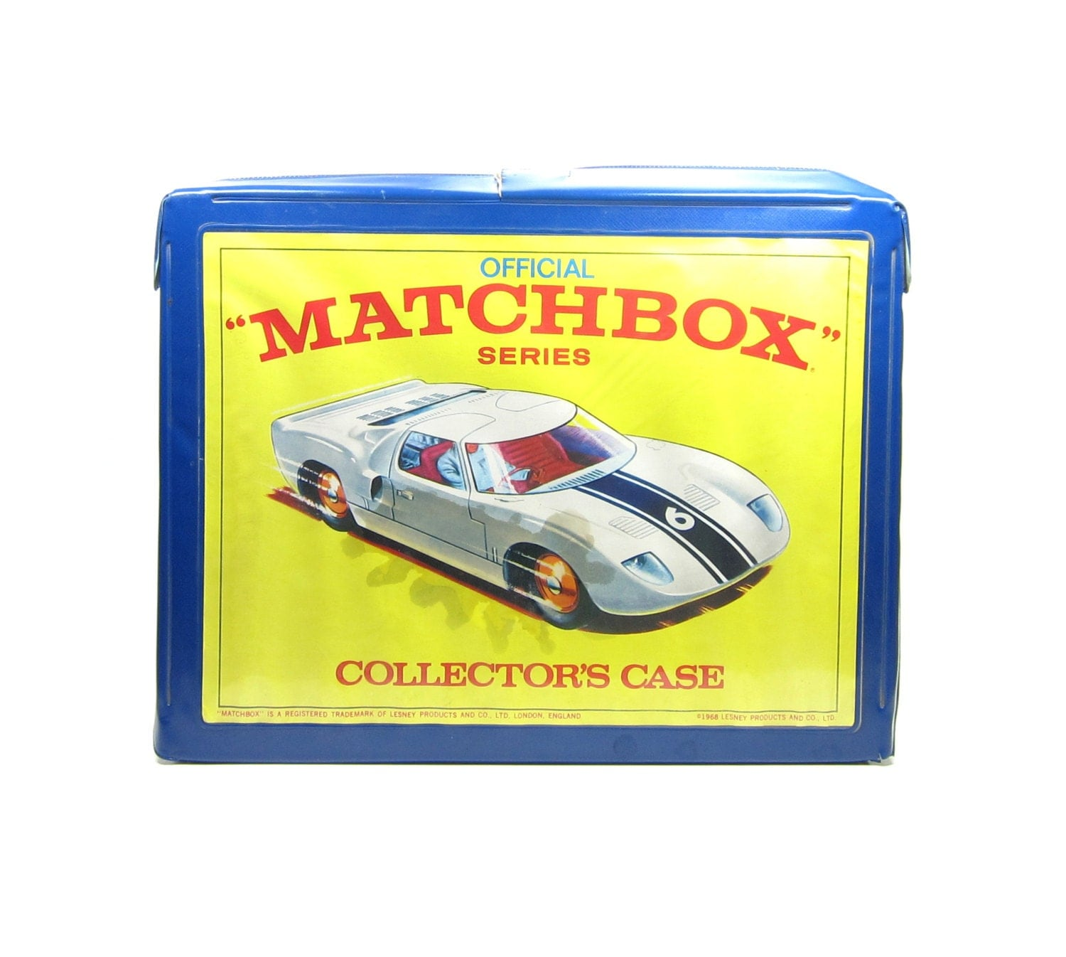 Matchbox Collectors Case 1968 Carrying By BrownEyedRoseVintage