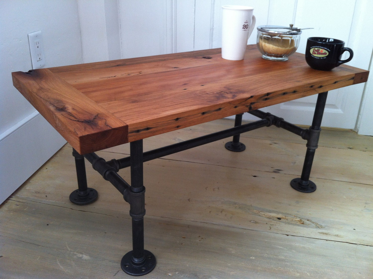 reclamation administration / reclaimed barnwood coffee table