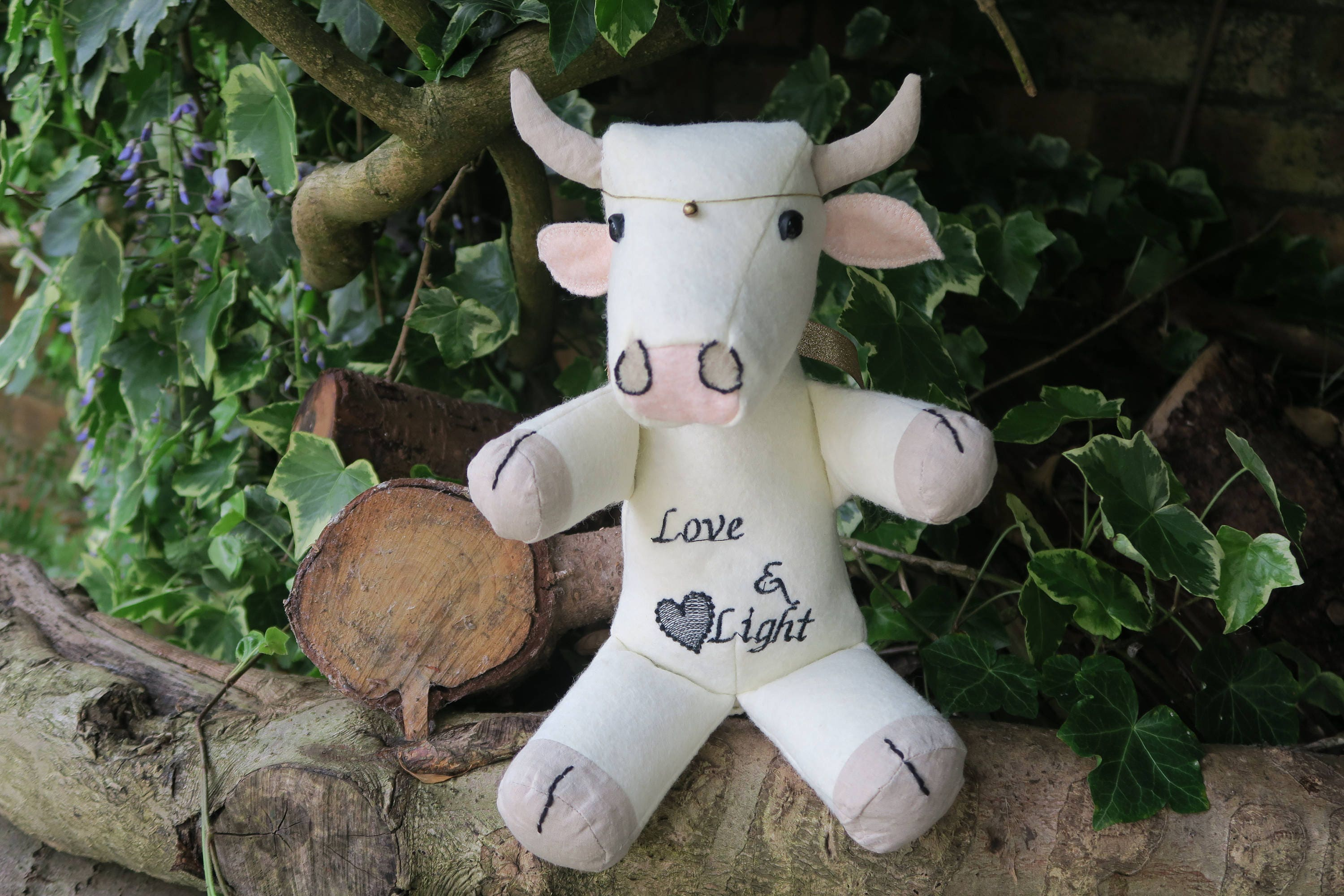 Sacred Cow soft decorative toy