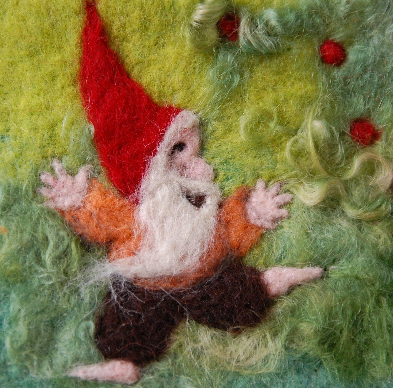 Oh Happy  Gnome, Oh Happy Gnome You Are So Full of Joy