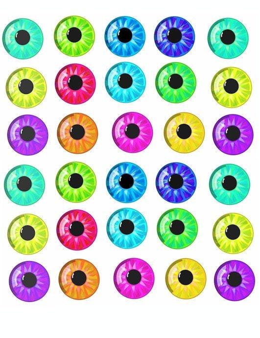 Blue Eyes Clipart. cartoon eyes pupil contact