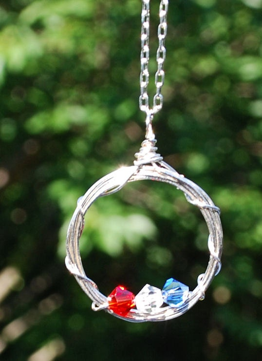 Help for the Heartland: Patriotic Necklace