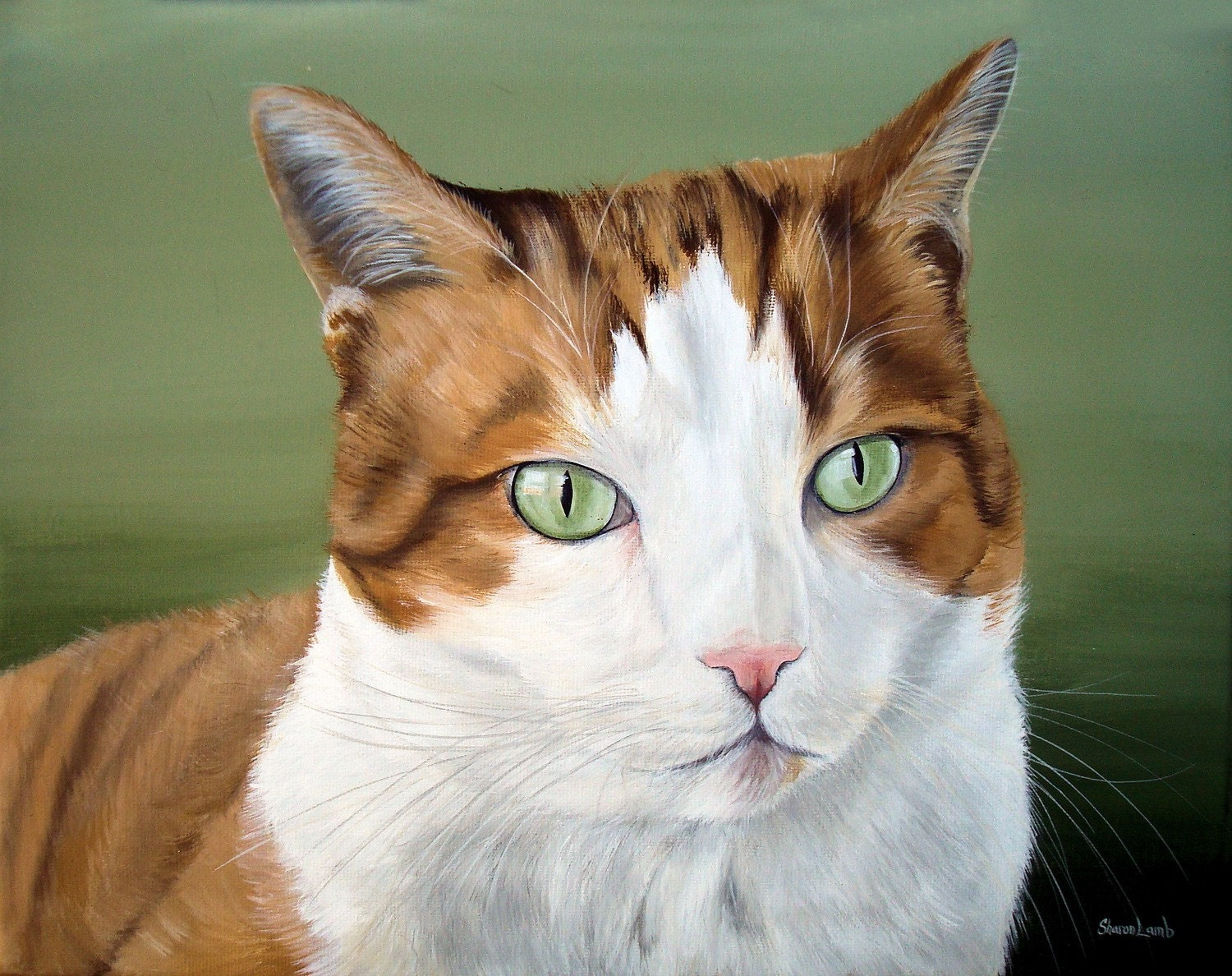 Commissioned Pet Portrait Painting11x14 Hand Painted Your Pet any Animal Dog Cat or Horse