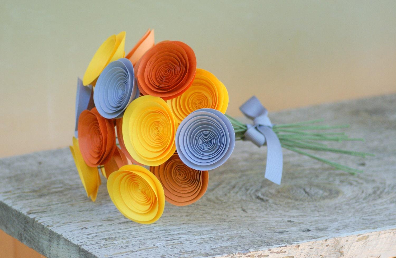Спиральные бумажные цветы: мастер-класс по созданию своими руками цветов из бумаги.  Цветы из бумаги: декор для...