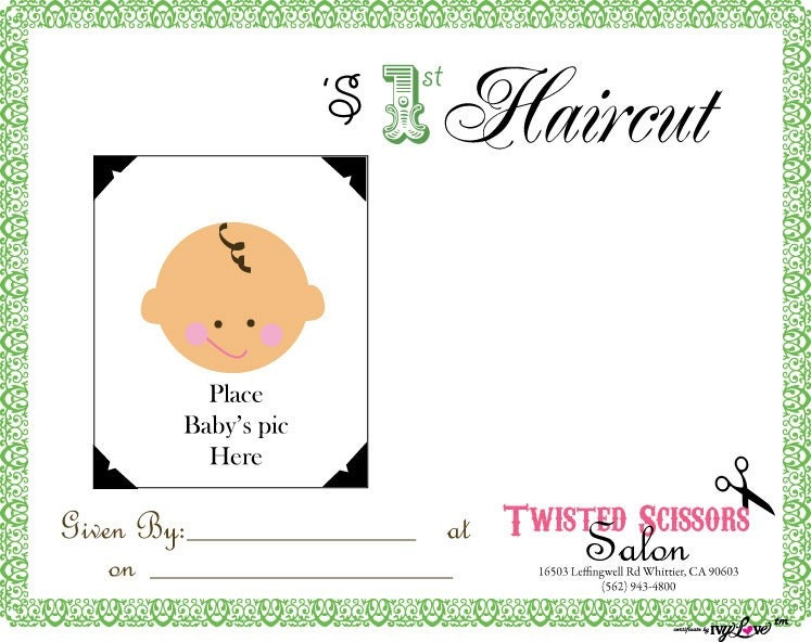 Haircut certificate template 28 images haircut for Haircut gift certificate template