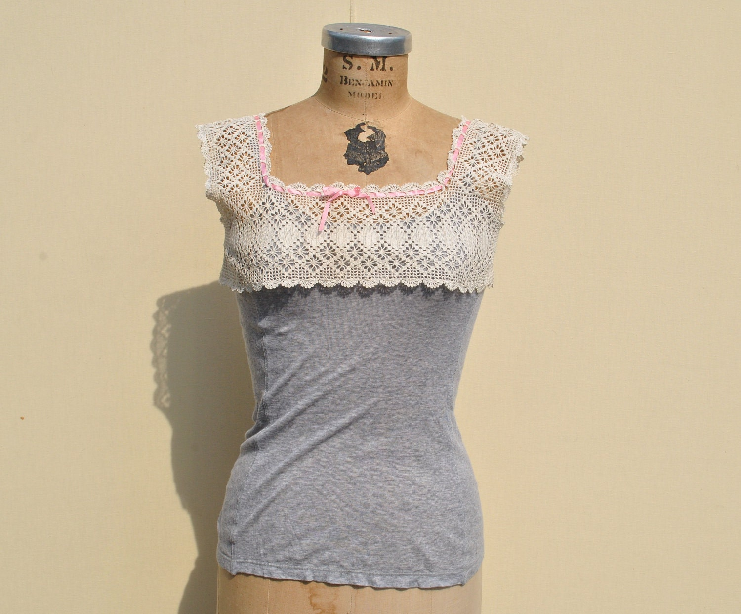 20% OFF HOLIDAY Vintage Top Crochet Lace VENDA Collar