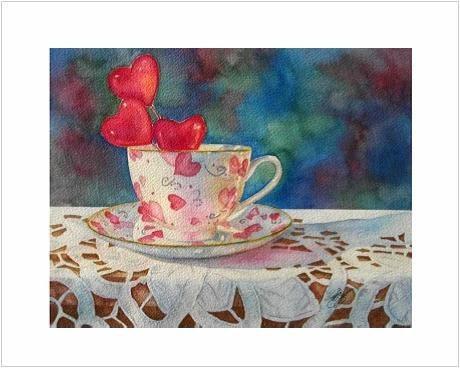Heart's Desire Notecards, Multi Pack Of 6 Blank Notecards