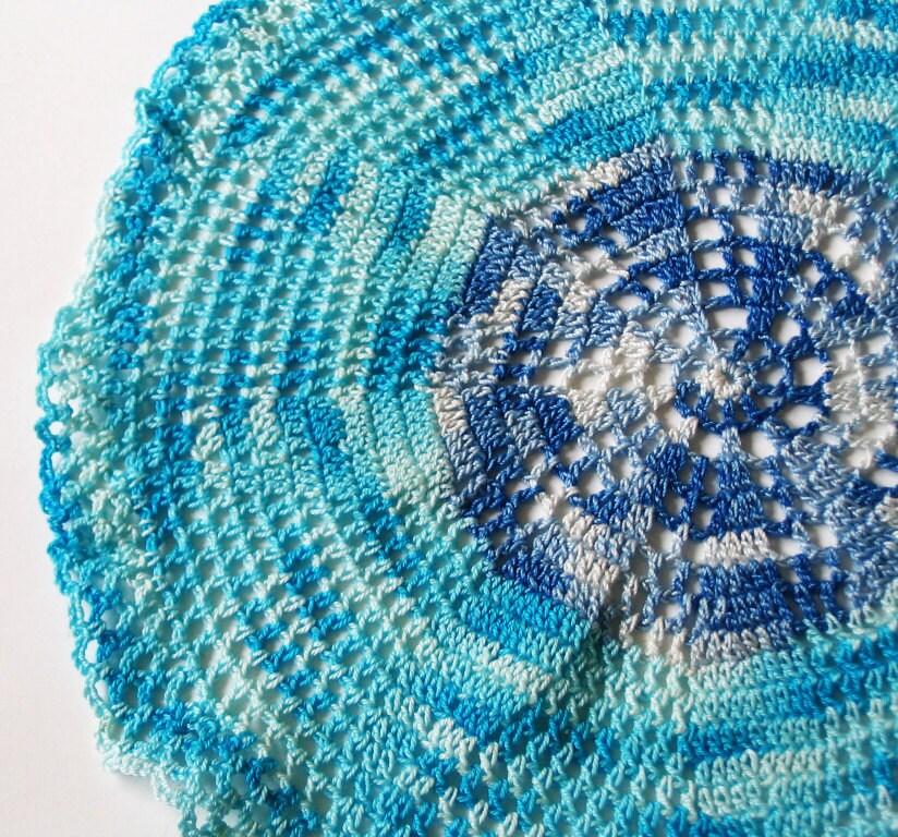 Misty.  Vintage Crochet Doily