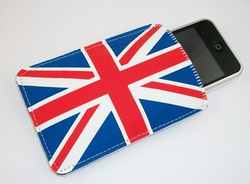 Union Jack Flag Photo Gadget Case - iPhone iPod iTouch Eris Hero and More