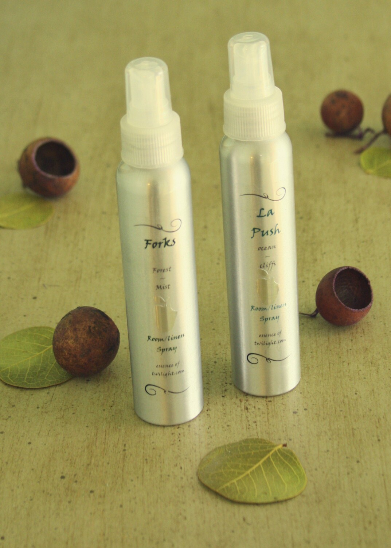 The Original Twilight Fragrance, Twilight Inspired Bath and Body, Twilight Inspired Linen/Room Spray - SET OF 4 - 4.75 ounce