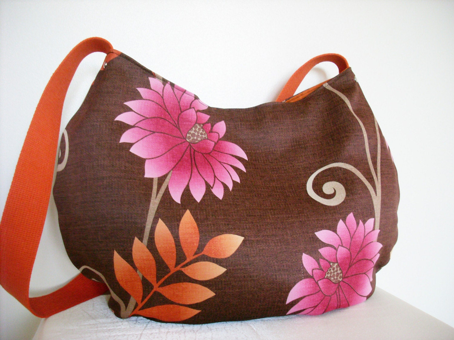 Flower Garden schoulder bag by elaabags on Etsy from etsy.com