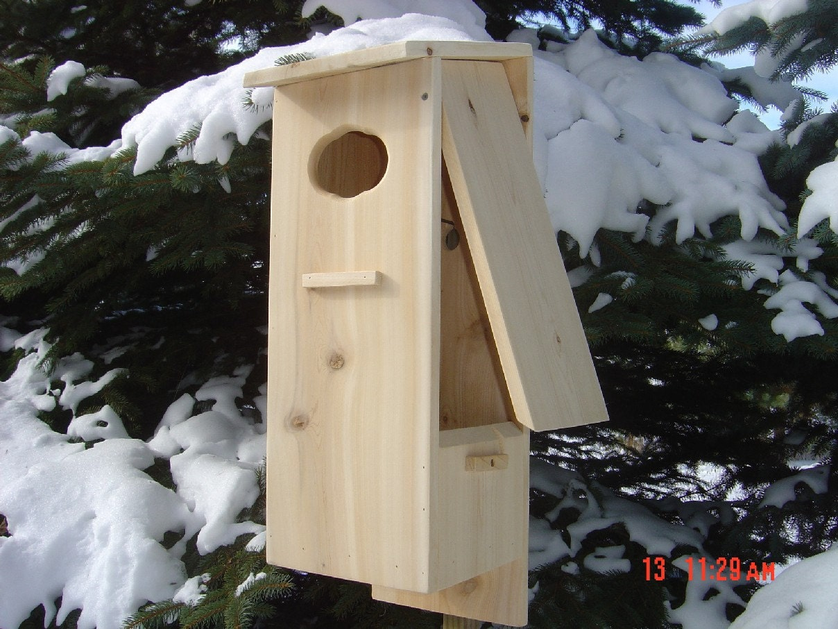 Wood Duck Nesting Box / House by bishgrg on Etsy
