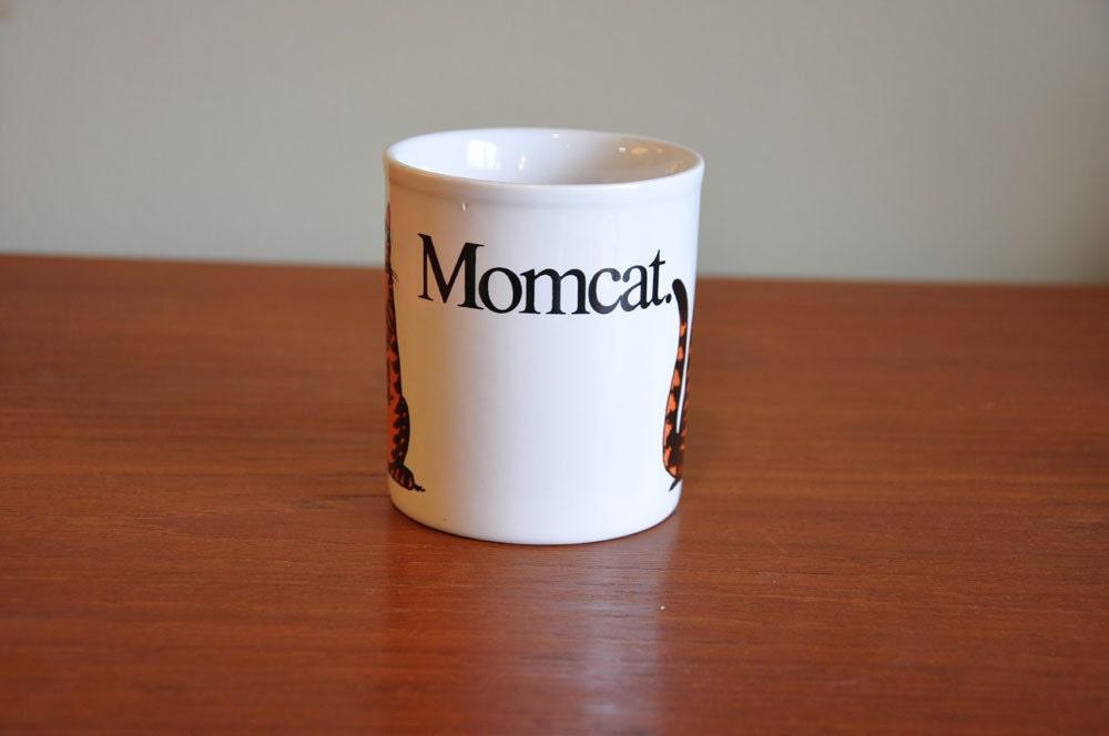"""On Hold for Laura- 1979 """"MomCat"""" Mug B. Kliban"""