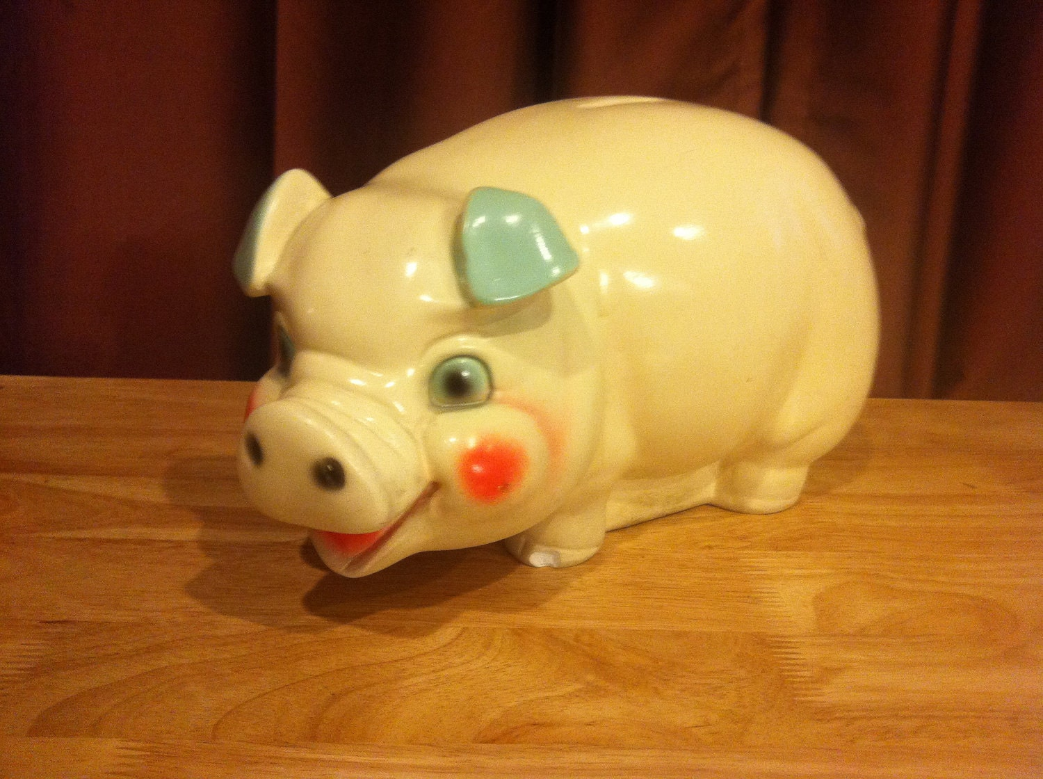 Ceramic Piggy Bank Extra Large And Extra Creepy By