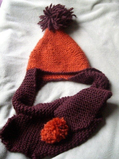 hat scarf combo