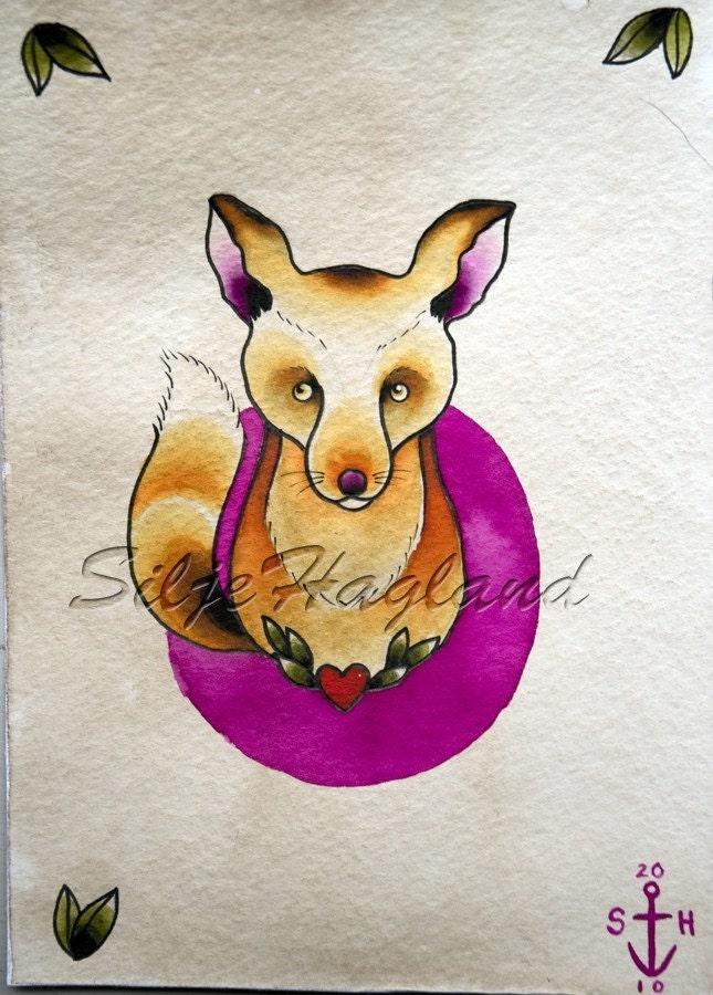 so foxy - print