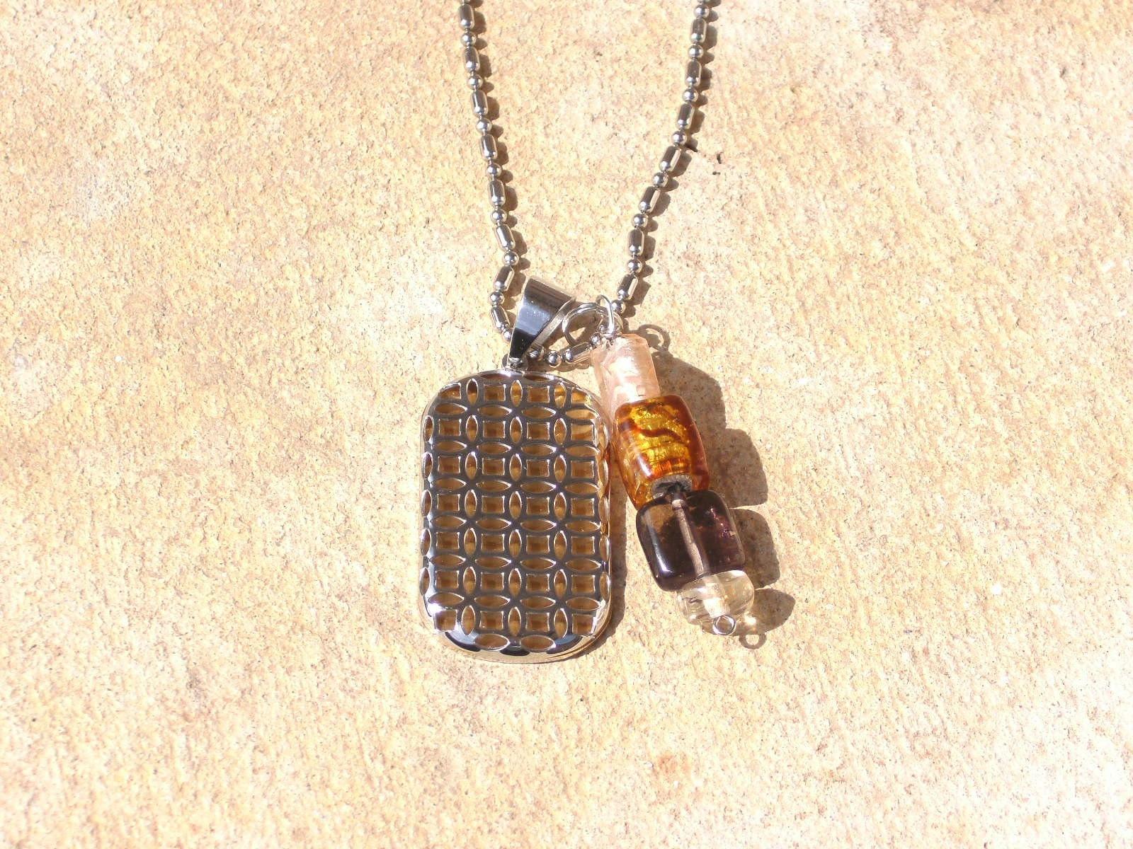 Golden Weaver A Man Necklace