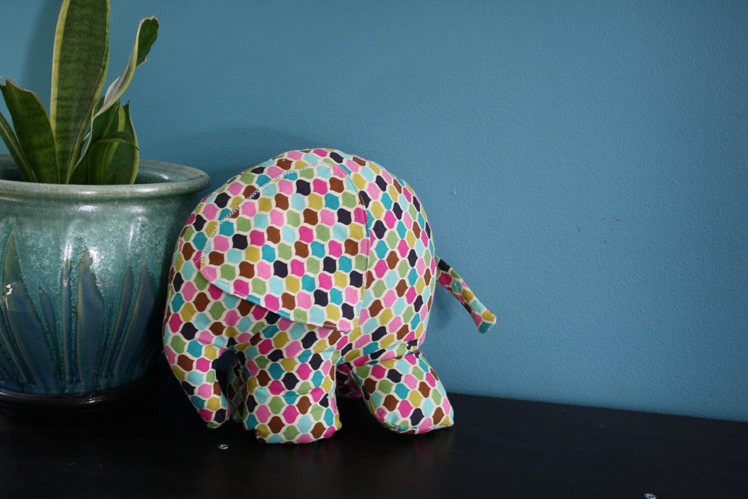 The perfect, imperfect Stuffed Elephant