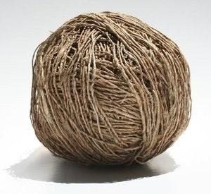 Natural Hemp Yarn - 100 gram ball - fingering weight
