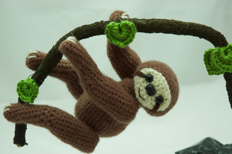 Free Amigurumi Sloth Pattern : Items similar to Sloth Amigurumi Crochet PDF Pattern on Etsy