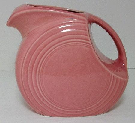 Vintage Rose Pink Fiestaware Fiesta Ware By Lakesidecottage