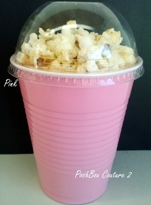 items similar to pink popcorn boxes baby shower ready to pop on etsy