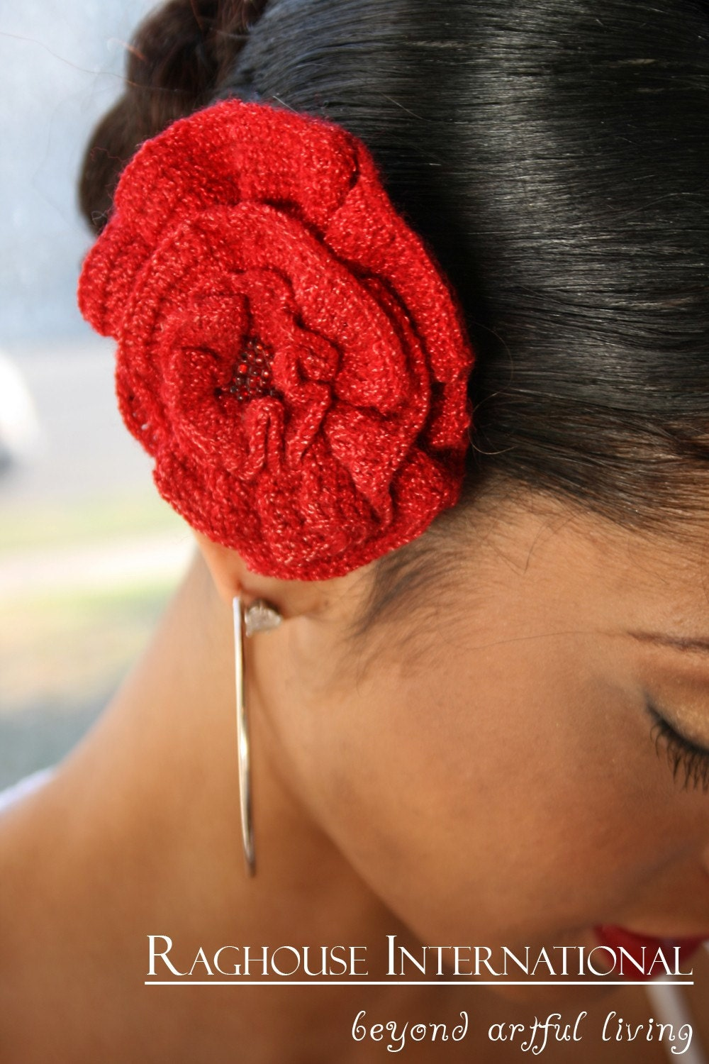 Red Rose for the Lady by raghousenternational on Etsy from etsy.com