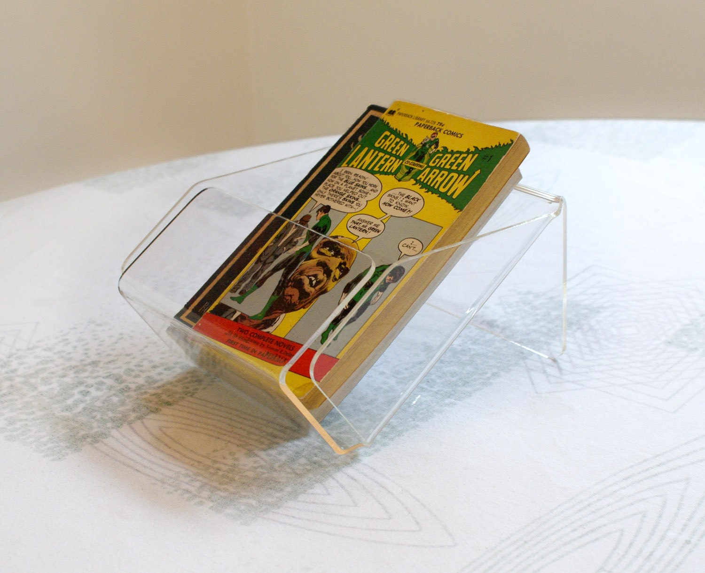 1980s acrylic desk organizer napkin holder in by niknaknook - Acrylic desk organizer ...
