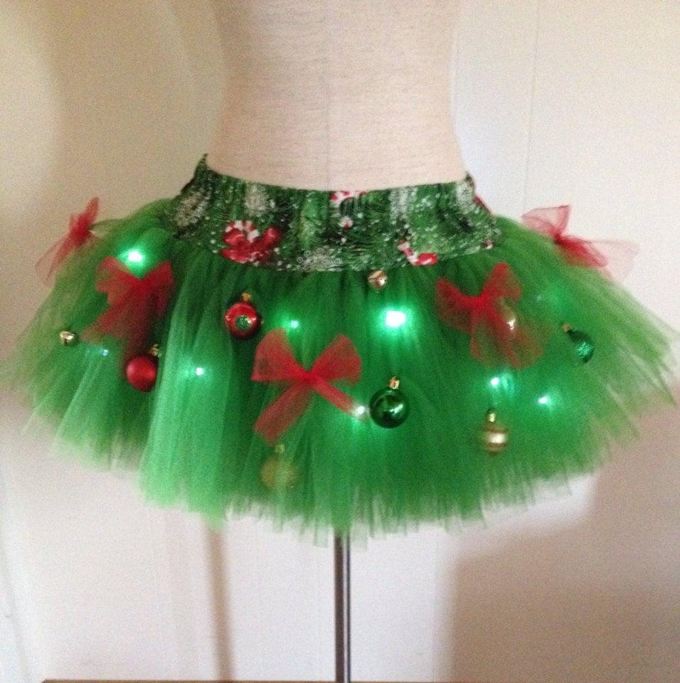 Tutu Christmas Tree Ornaments