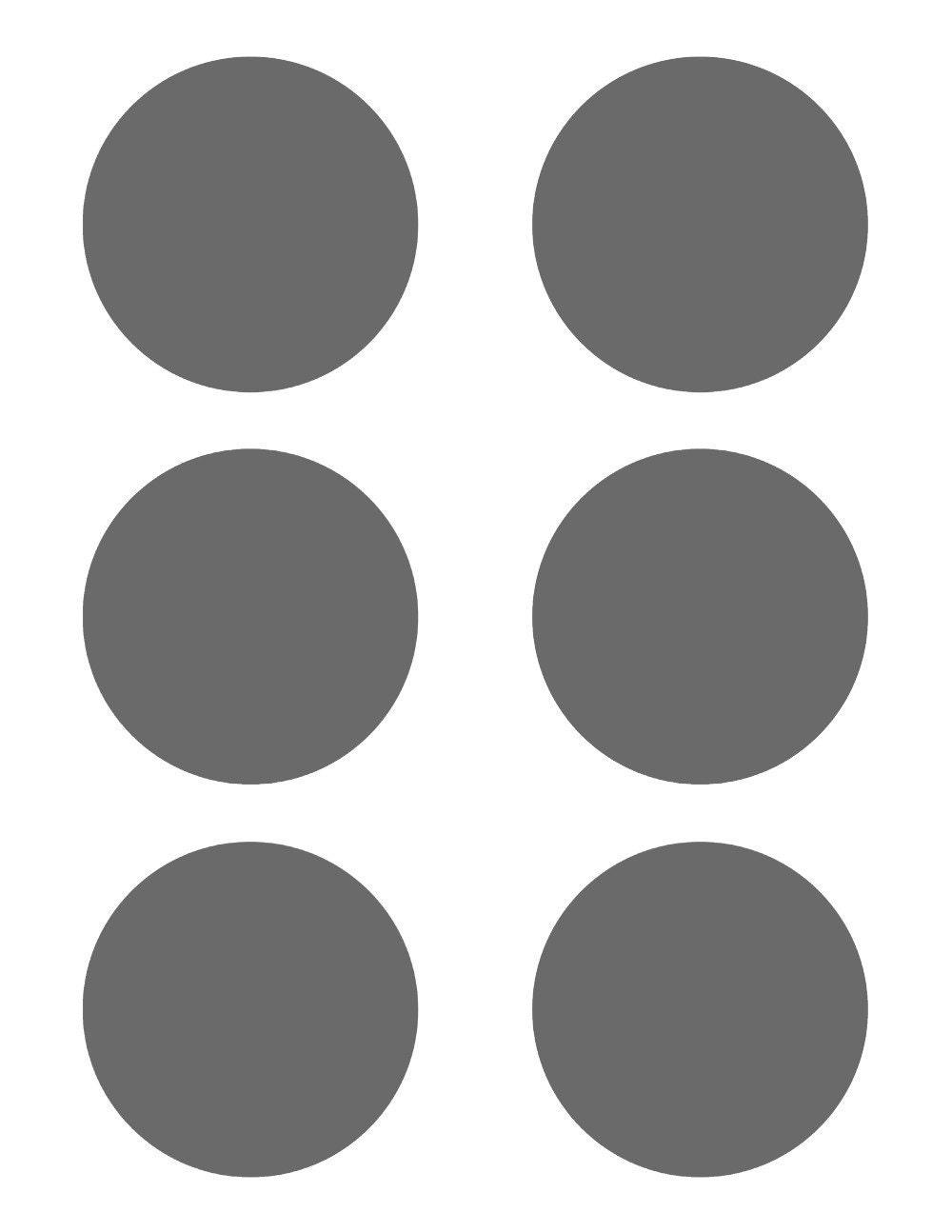 7 inch diameter circle template - psd template 6 circles 3 inch diameter