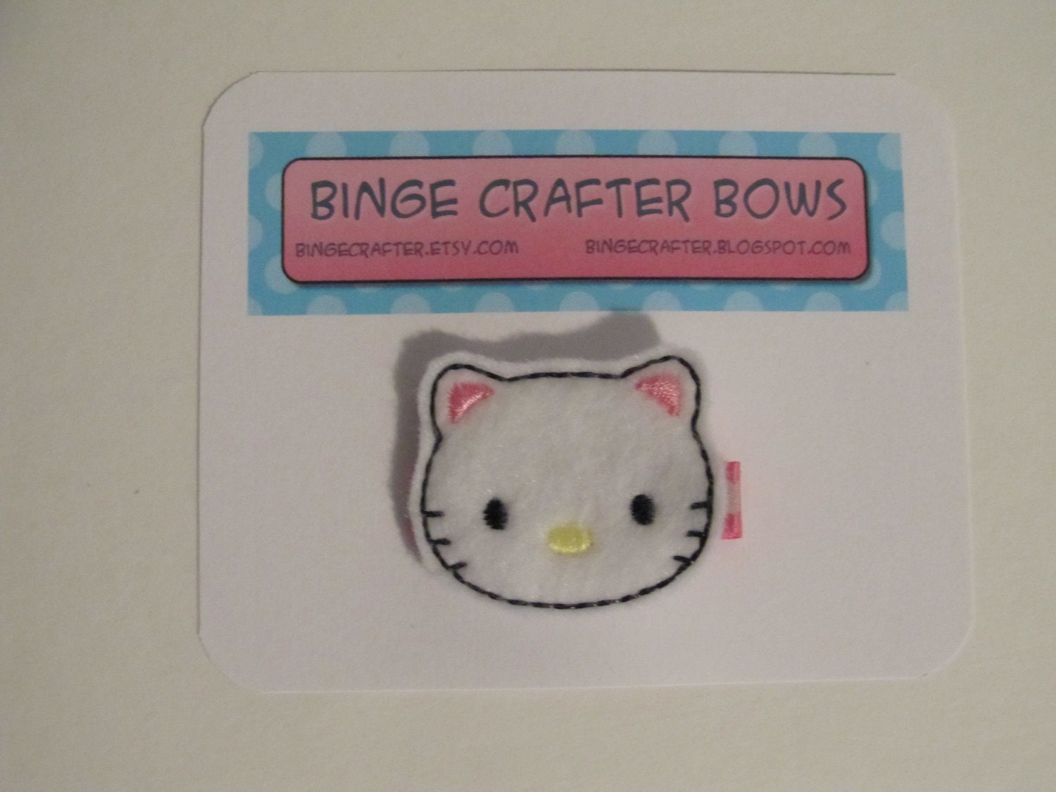 Hello Kitty Felt Embellished Hairclip