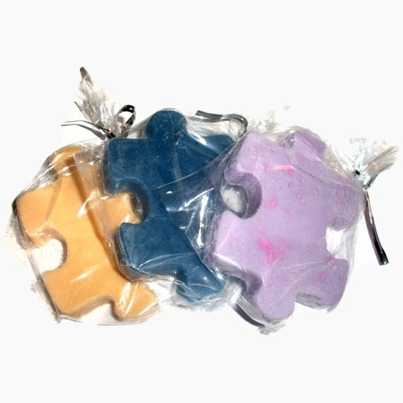 Puzzle soap to benefit autism awareness