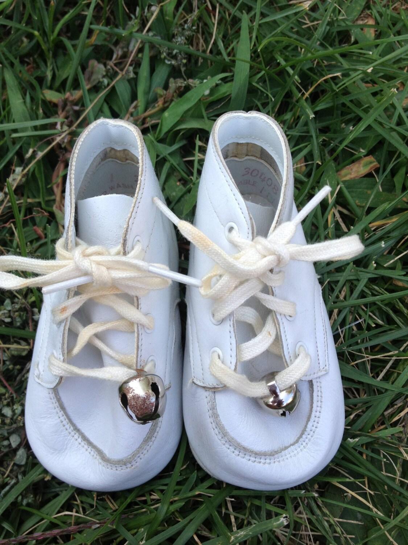 Baby Shoes Bells Lishyloo Etsy