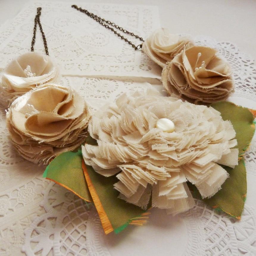 织物、丝带、蕾丝、扣子....... - maomao - 我随心动