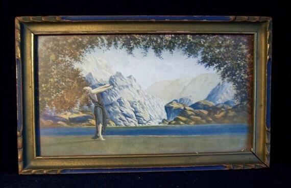 Art Deco Print By Robert Wood Dawn Fantasy By Treasurecoveally