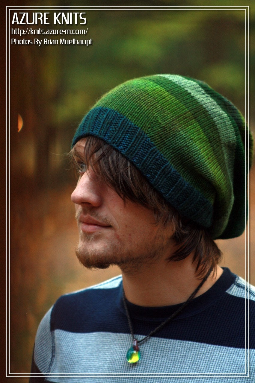 Shaggy Green - Long Hat (unisex)