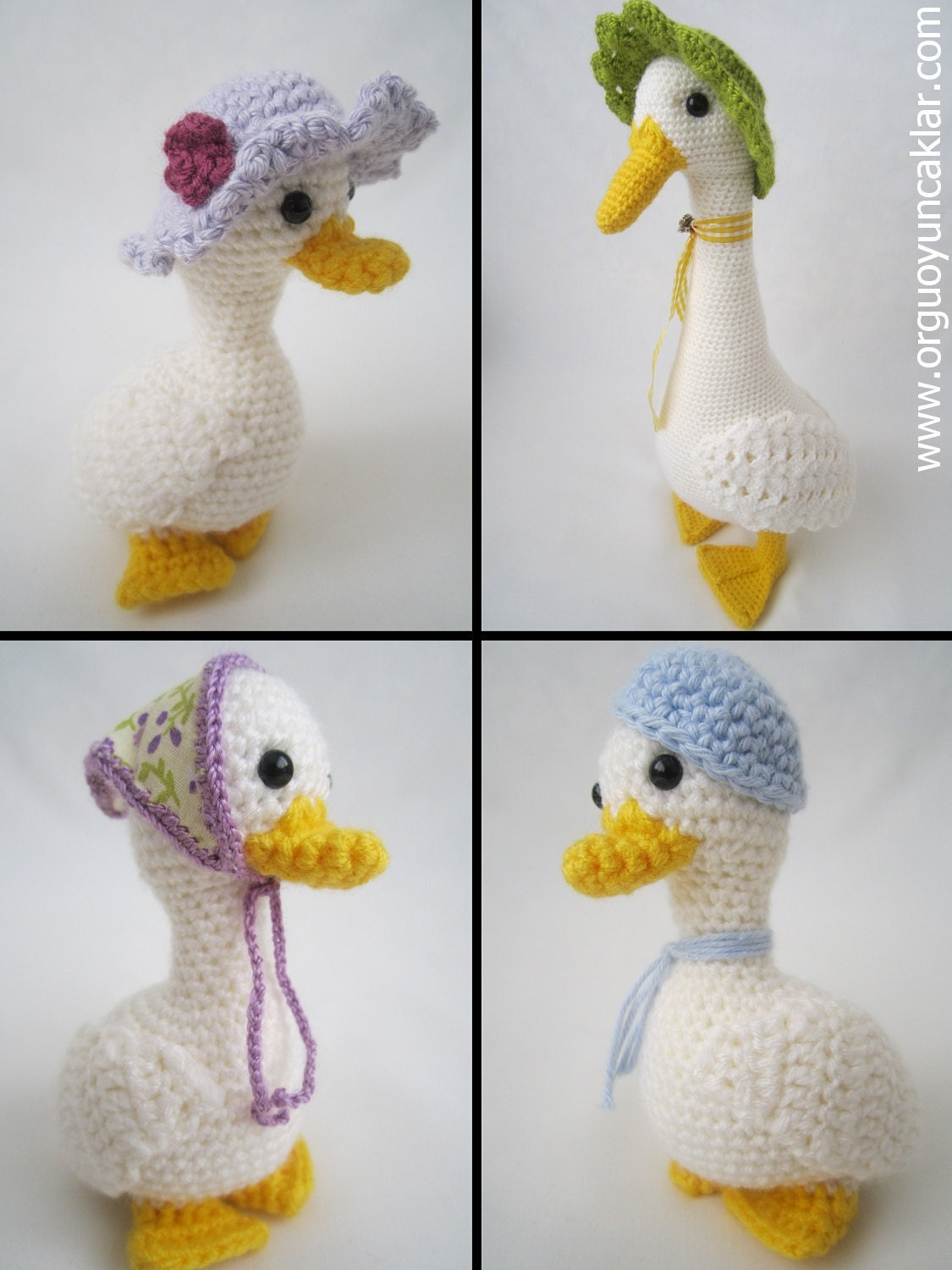 Amigurumi Mum and Baby Ducks Pattern