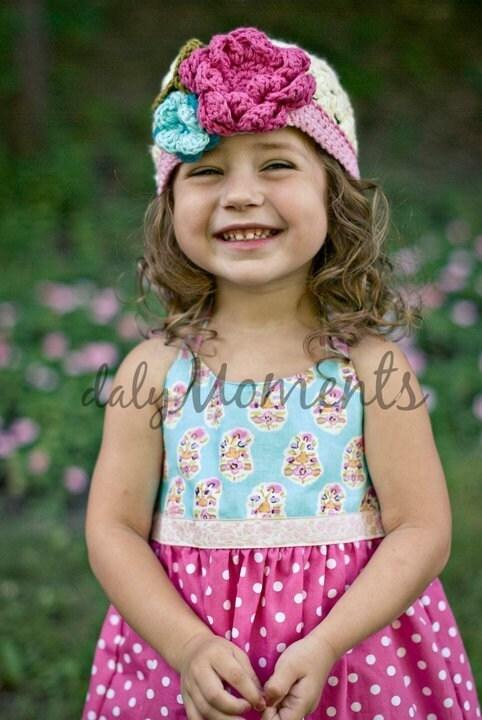Wildflower Spring Hat