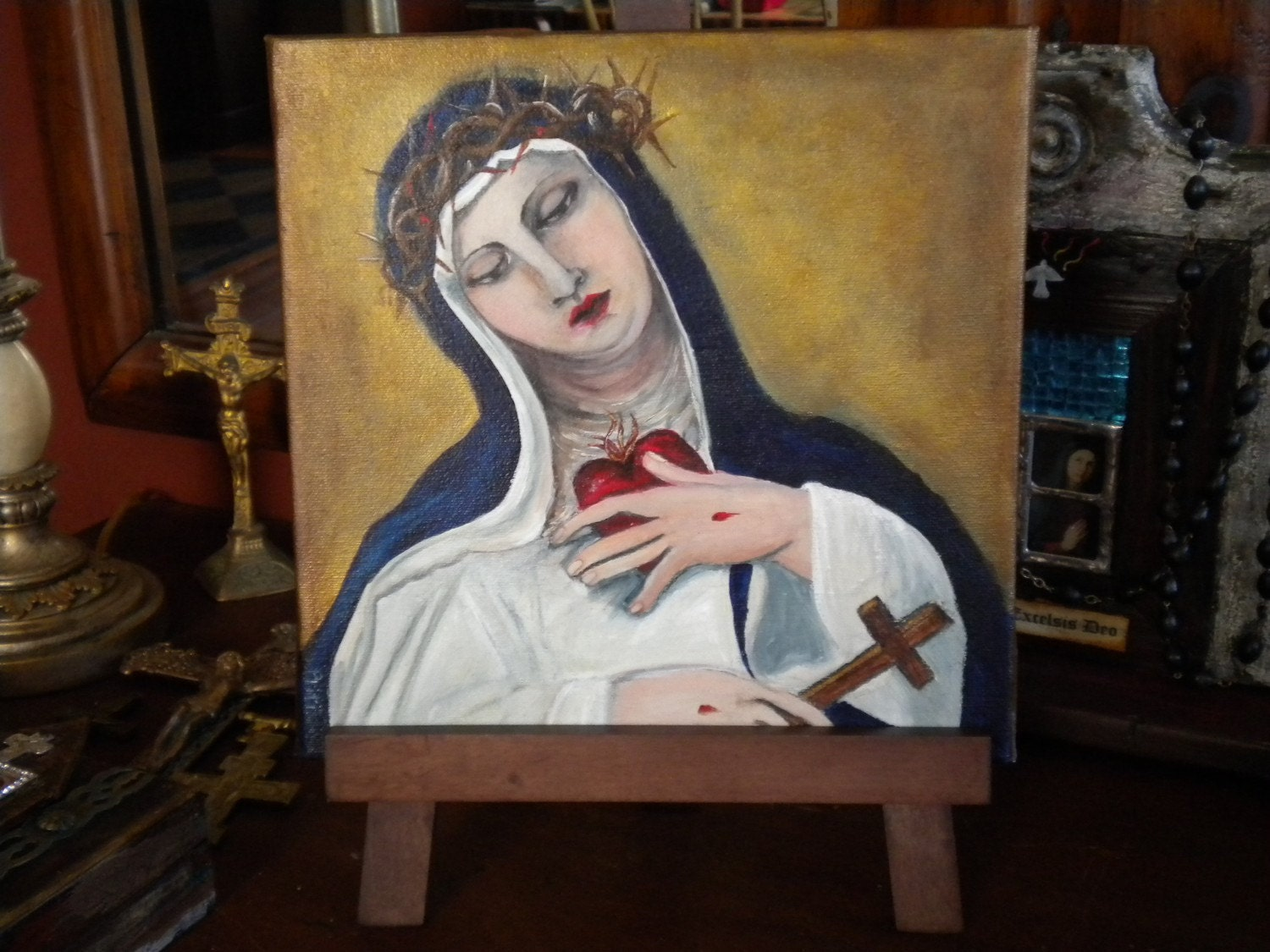 Mary, Our Lady Original Painting