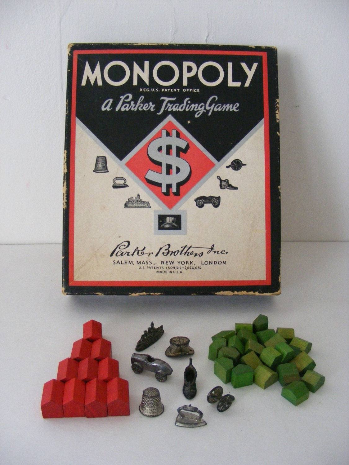 Monopoly game pieces