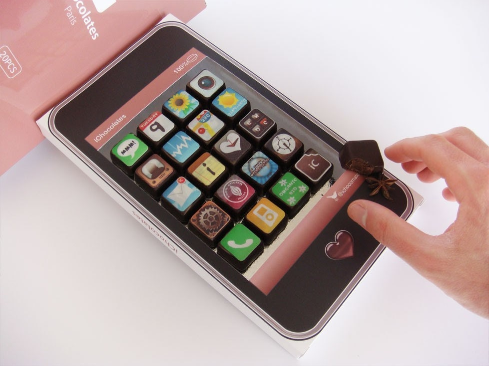 Iphone chocolat en el blog de telling