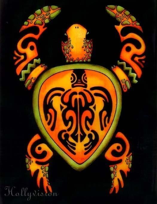 tribal turtle tattoos. Tribal Tattoo Turtle