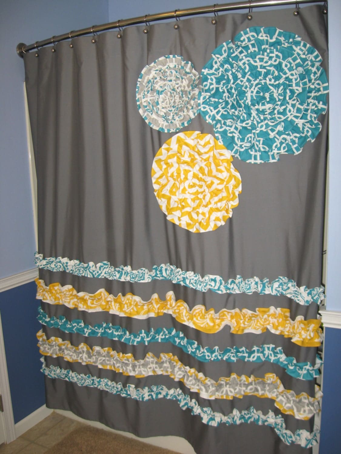 orange and gray shower curtain. Best Paisley Curtains  Items Similar To Colorful Shower Curtain Orange Monika
